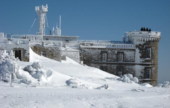 Mont Aigoual, observatoire meteo et du changement climatique