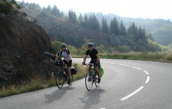 En route vers le Col de Cabarétou