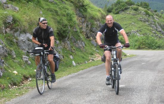 Cevennes and bike
