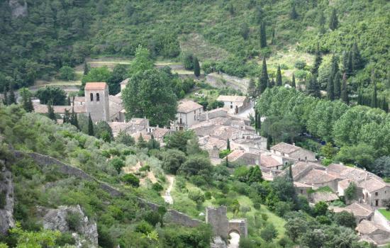 Le village médiéval de Saint Guilhem le Désert