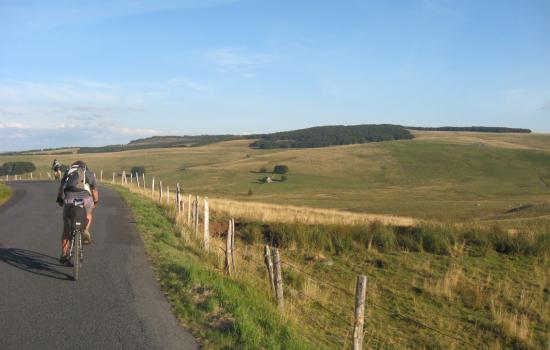 Plaisir de sillonner les routes de l'Aubrac