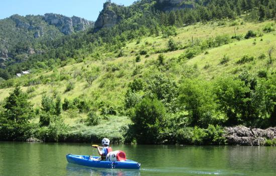 Beauté des paysages des gorges du Tarn