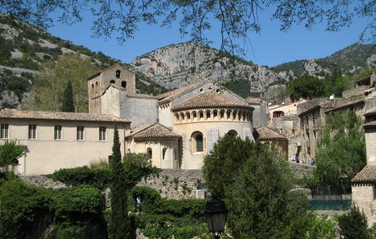 L'abbaye de Gellone au coeur de Saint Guilhem le Désert