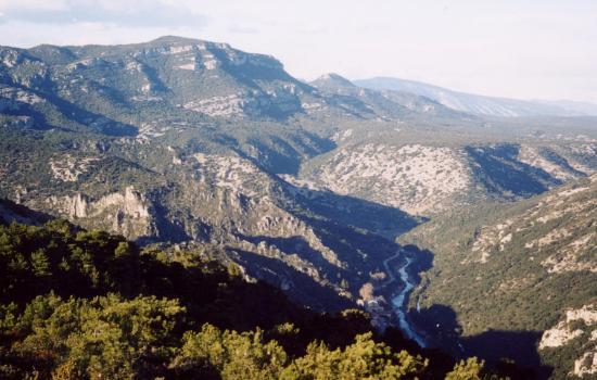 les monts de St Guilhem et la seranne