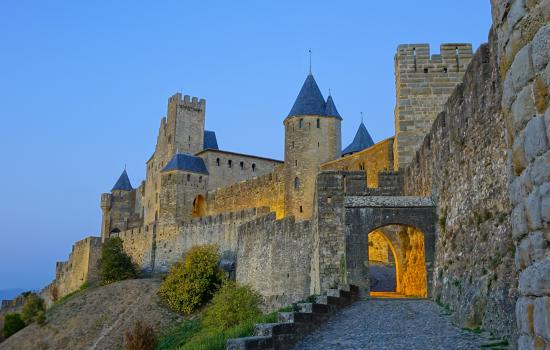 Cité de Carcassonne à vélo