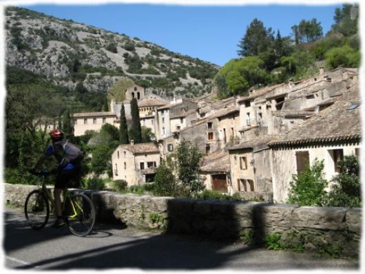 En Herault, les Grands Sites de France à velo