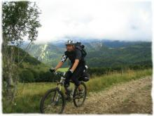 Mountain biking between Monts d'Ardeche and Haut Loire