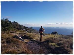 Itinérance trail à travers le Massif Central