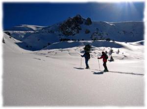 Sortie ski de rando encadree par guide de haute montagne